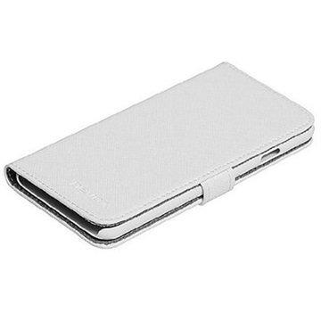 iPhone 6S Plus Nevox Ordo Folio Kotelo Valkoinen / Harmaa