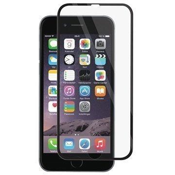 iPhone 6S Plus Panzer Full-Fit Näytönsuoja Karkaistu Lasi Musta