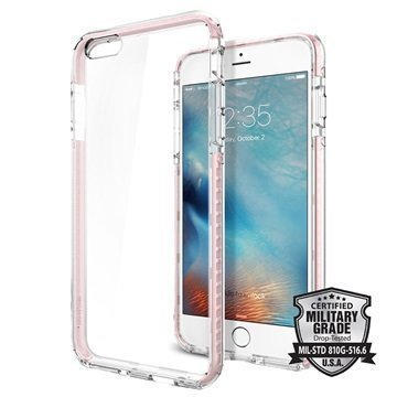 iPhone 6S Plus Spigen Ultra Hybrid Tech Case Crystal Rose
