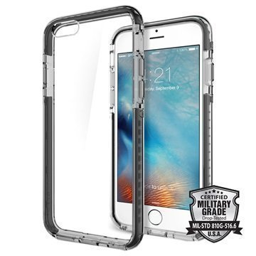 iPhone 6S Plus Spigen Ultra Hybrid Tech Kotelo Kristallinmusta
