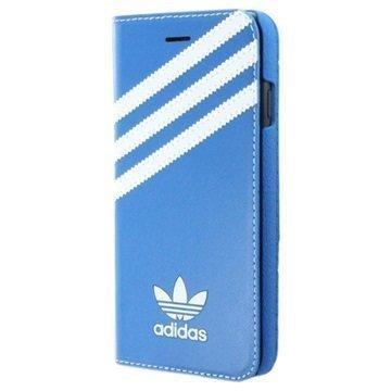 iPhone 7 Adidas Basics Book Case Blue