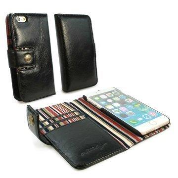 iPhone 7 Alston Craig lompakkokotelo Musta