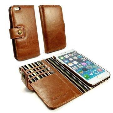 iPhone 7 Alston Craig lompakkokotelo Ruskea