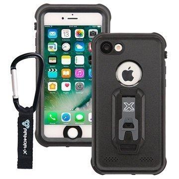 iPhone 7 Armor-X MX-AP7 Vedenkestävä Kotelo Musta
