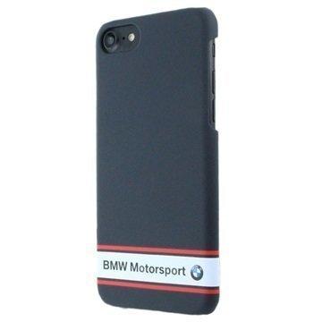 iPhone 7 BMW Motorsport Rubberized Case Navy Blue