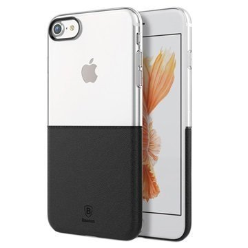 iPhone 7 Baseus Premium Maker Case Transparent / Black
