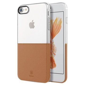 iPhone 7 Baseus Premium Maker Case Transparent / Brown