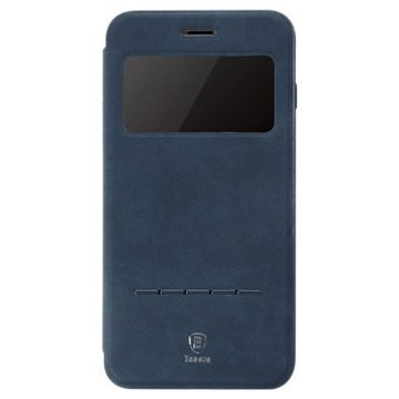 """iPhone 7 Baseus Simple Slide läppäkotelo â"""" Tummansininen"""