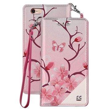 """iPhone 7 Beyond Cell Infolio C lompakkokotelo â"""" Kirsikankukka"""