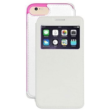 iPhone 7 Beyond Cell Infolio V Lompakkokotelo Valkoinen