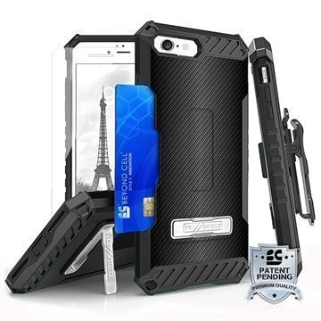 iPhone 7 Beyond Cell Tri Shield Kombo Case Carbon Fiber