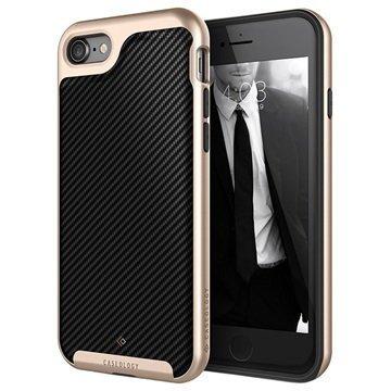 iPhone 7 Caseology Envoy Kotelo Hiilikuitu Musta