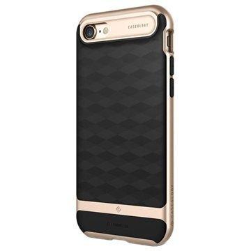 iPhone 7 Caseology Parallax Hybrid Suojakuori Musta / Kulta