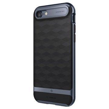 iPhone 7 Caseology Parallax Hybrid Suojakuori Musta / Tummansininen