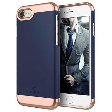 iPhone 7 Caseology Savoy Kotelo Laivastonsininen