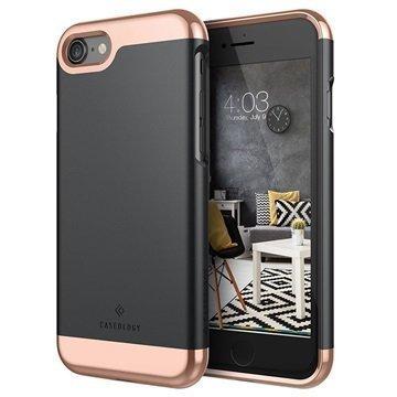 iPhone 7 Caseology Savoy Kotelo Musta