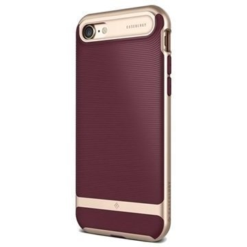iPhone 7 Caseology Wavelength Suojakuori Burgundy Punainen