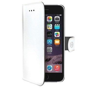iPhone 7 Celly Wally Lompakkokotelo Valkoinen