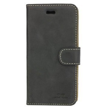 iPhone 7 DC Luka Wallet Leather Case Black