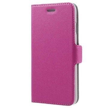 iPhone 7 Doormoon Läppäkotelo Kuuma Pinkki