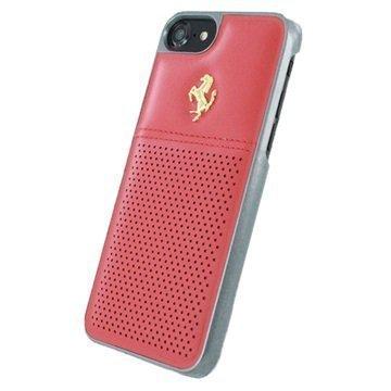 iPhone 7 Ferrari GT Berlinetta Nahkakuori Punainen