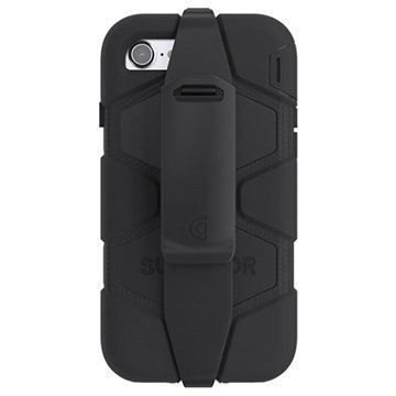 iPhone 7 Griffin Survivor All-Terrain Suojakotelo Musta