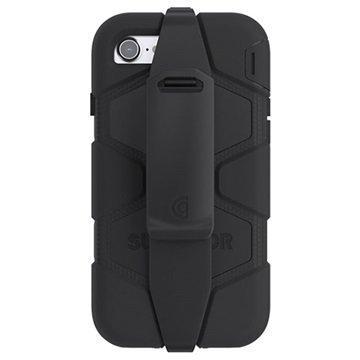 iPhone 7 Griffin Survivor All-Terrain Suojakotelo Musta