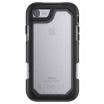 iPhone 7 Griffin Survivor Summit Kotelo Musta / Kirkas