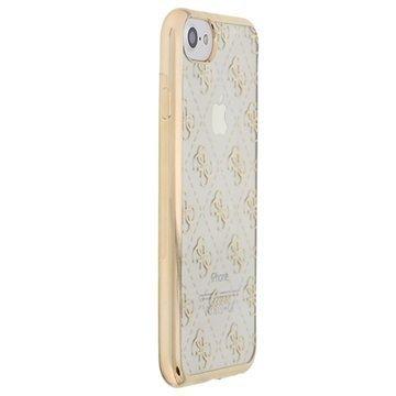 iPhone 7 Guess 4G TPU Suojakuori Kulta