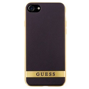 iPhone 7 Guess Classic Case Black / Gold