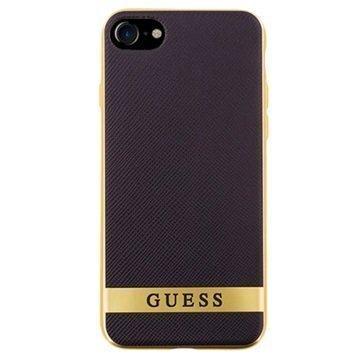 iPhone 7 Guess Classic Case Black / Gold