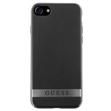 iPhone 7 Guess Classic Case Black / Grey