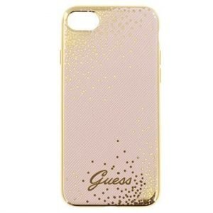 iPhone 7 Guess Dots Case Pink