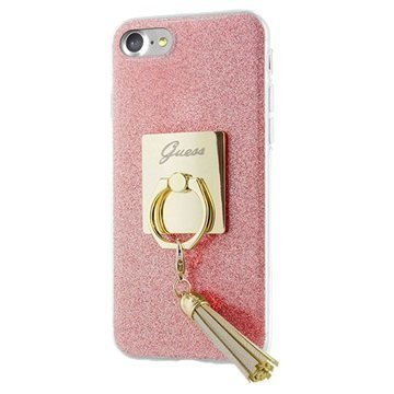 iPhone 7 Guess Ring TPU Case Pink