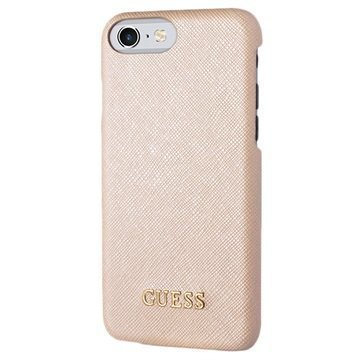 iPhone 7 Guess Saffiano Look Suojakuori Beige