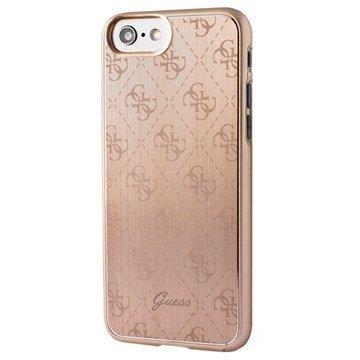 iPhone 7 Guess Signature 4G Suojakuori Kulta
