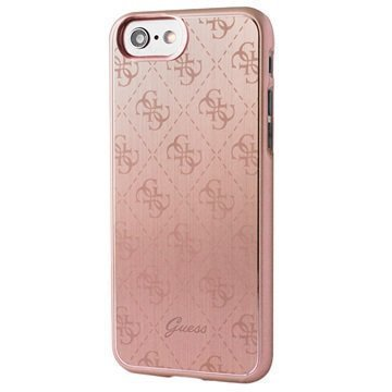 iPhone 7 Guess Signature 4G Suojakuori Ruusukulta