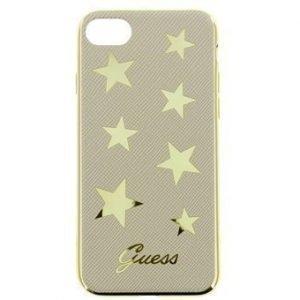 iPhone 7 Guess Stars Case Beige