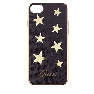 iPhone 7 Guess Stars Case Black