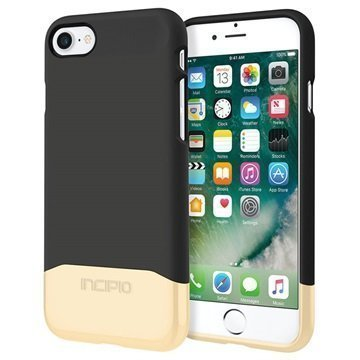 iPhone 7 Incipio Edge Chrome Suojakuori Musta / Kulta