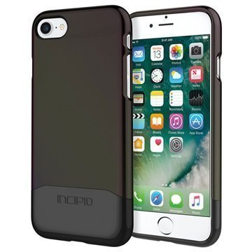 iPhone 7 Incipio Edge Chrome Suojakuori Musta