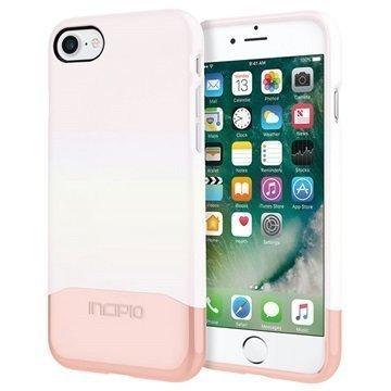 iPhone 7 Incipio Edge Chrome Suojakuori Valkoinen / Ruusukulta