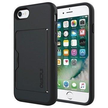 "iPhone 7 Incipio Stowaway suojakuori â"" Musta"