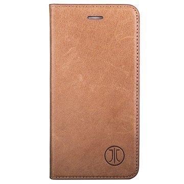 iPhone 7 JT Berlin LeatherBook Magic Lompakkokotelo Konjakki