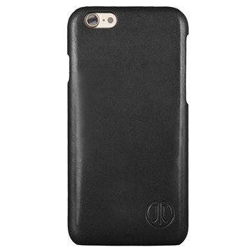 iPhone 7 JT Berlin Nahkakotelo Style Pure Musta