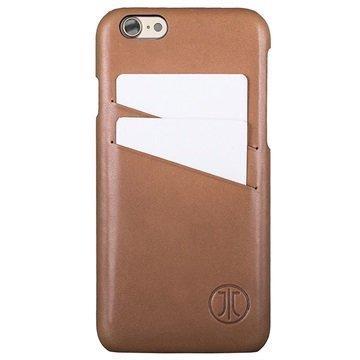 iPhone 7 JT Berlin Style Nahkakotelo Konjakki