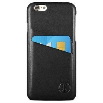 iPhone 7 JT Berlin Style Nahkakotelo Musta