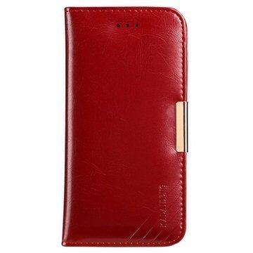 iPhone 7 Kalaideng Royale II Nahkainen Lompakkokotelo Punainen