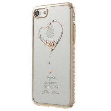 iPhone 7 Kingxbar Star Suojakuori Sydämet