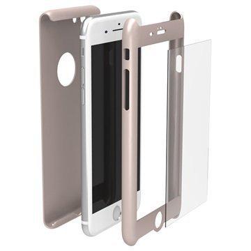 iPhone 7 Krusell Arvika 360 Suojakuori Ruusukulta